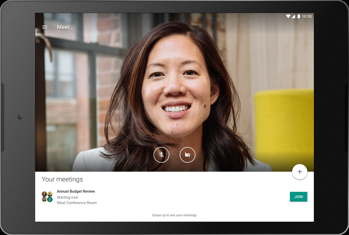 Google S Hangouts Meet App Gains Support For Android Tablets And Ipads