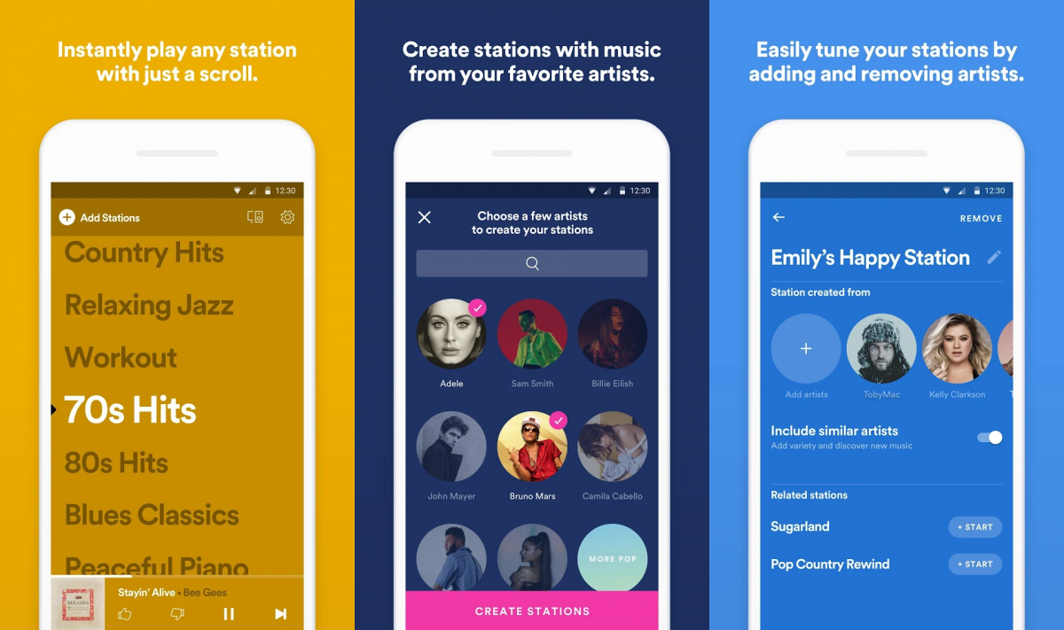 Spotify Experiments with a Free Playlist-Only App Called