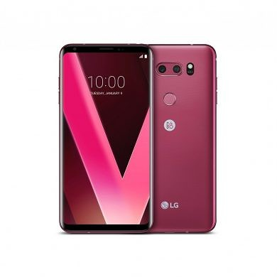 LG to Introduce Raspberry Rose LG V30 at CES 2018