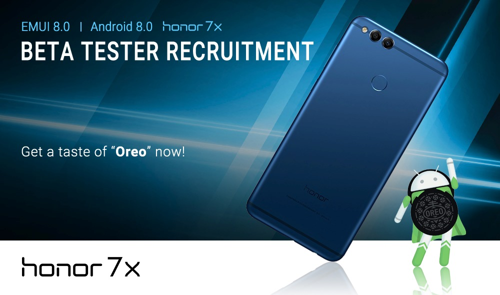 How to Beta Test EMUI 8 0 (Oreo-based) on the Honor 7X - Now Open to