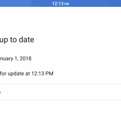 """""""Check for updates"""" button now works on the Pixel 2 with the latest Google Play Services"""