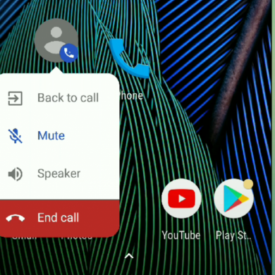 [Hands On] Google Dialer's Floating Bubble Goes Live in v17 with a Fresh Coat of Paint