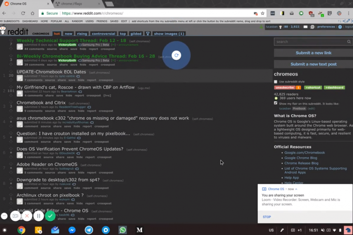 Pull to refresh can now be enabled in Google Chrome for Chromebooks