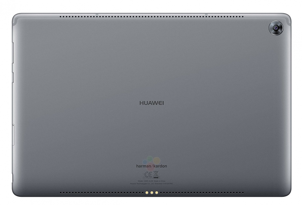 Photos and More Specs of the Huawei MediaPad M5 10 Pro Leak