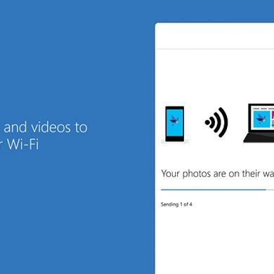 Microsoft's Photos Companion App Lets You Quickly Transfer Pics from your Phone to a Windows 10 PC