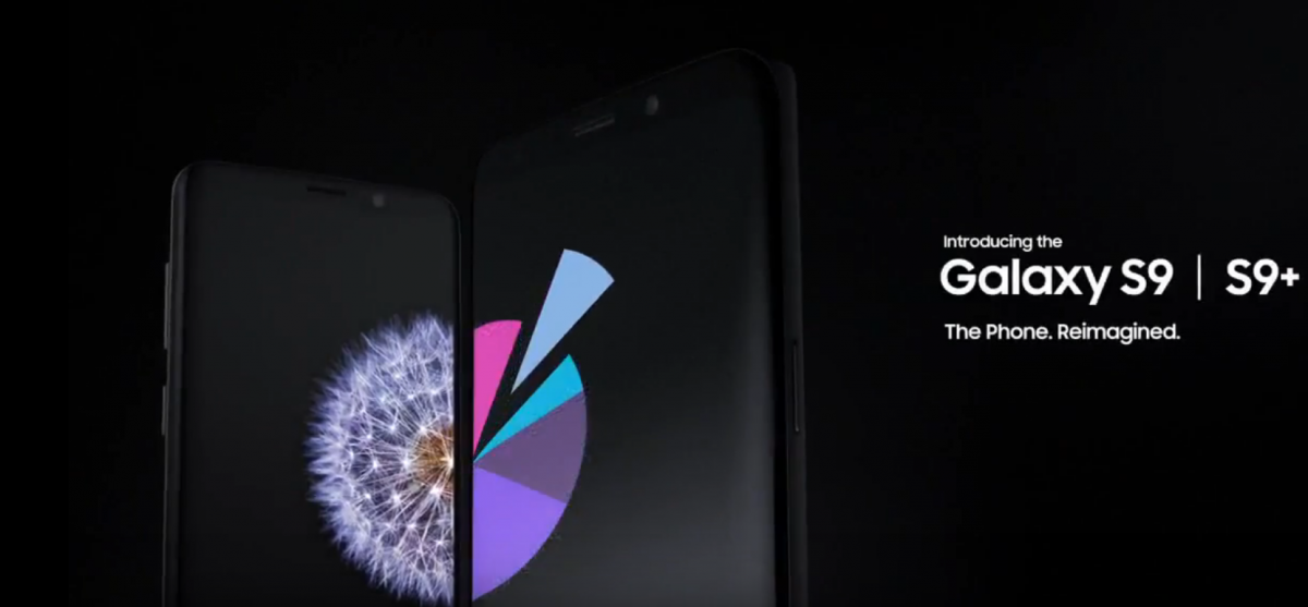 Samsung Galaxy S9 and Galaxy S9+ are Official