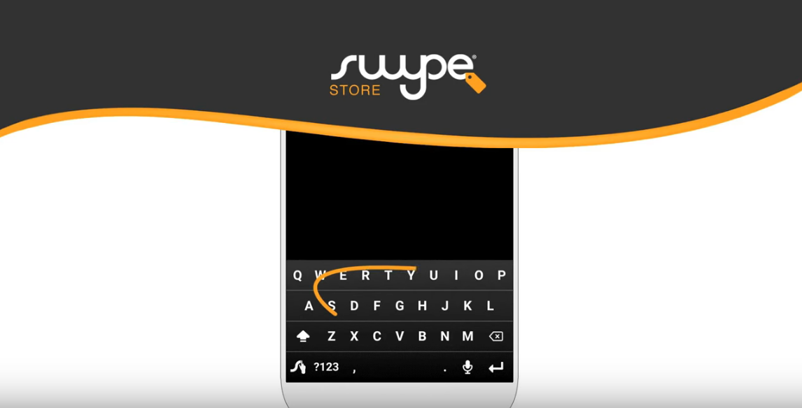 Swype Keyboard for Android with Dragon Dictation has been