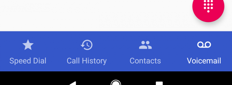 [Hands On] Google Phone App is Testing a Bottom Bar Redesign