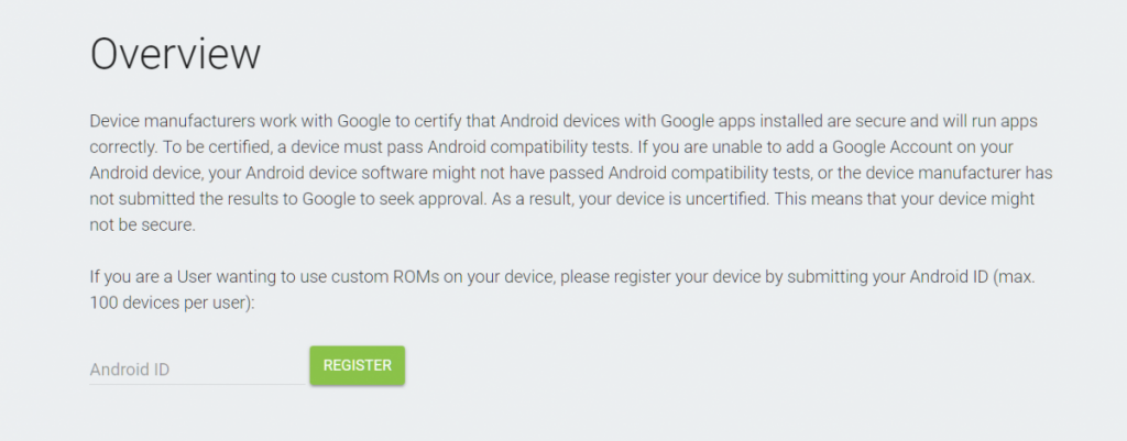 Google Play Custom ROM