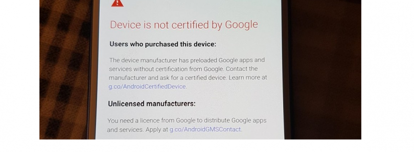 Google Removes the 100 Device Registration Limit from the Uncertified Device Page