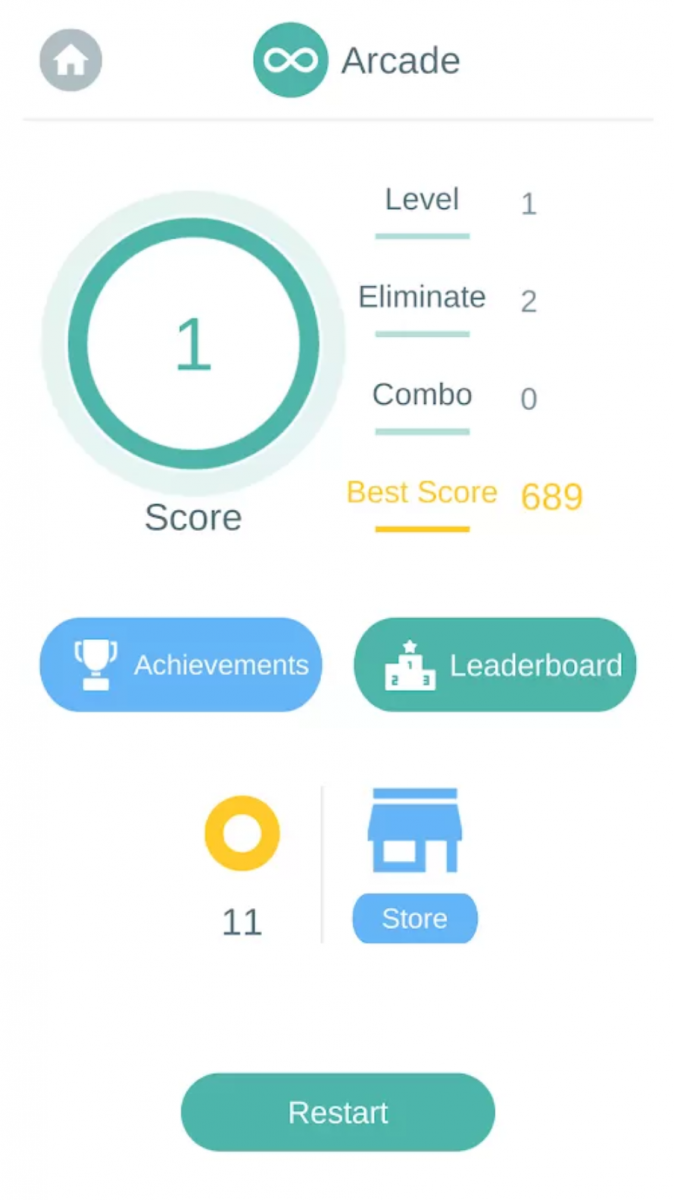 Color Edge is a simple arcade game with puzzle elements