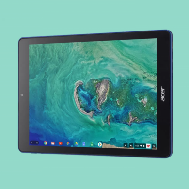 The first Chrome OS tablet is officially the Acer Chromebook Tab 10