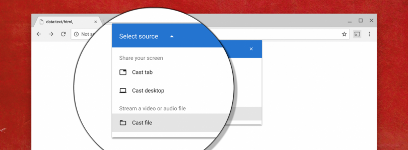 Google Chrome will finally support casting local files