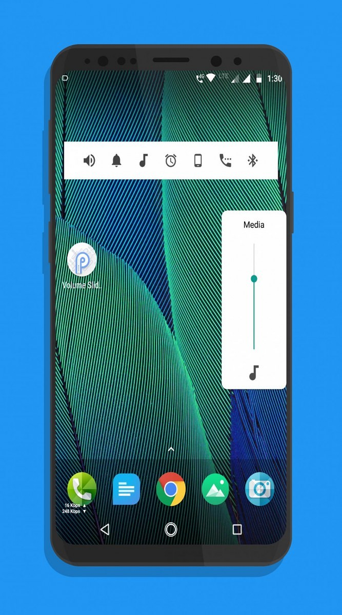 Get the Android P media controls on any Android 4 0+ device