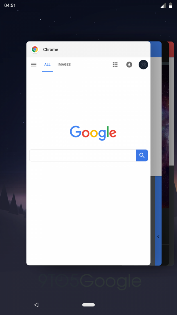 Android P iPhone X Gesture