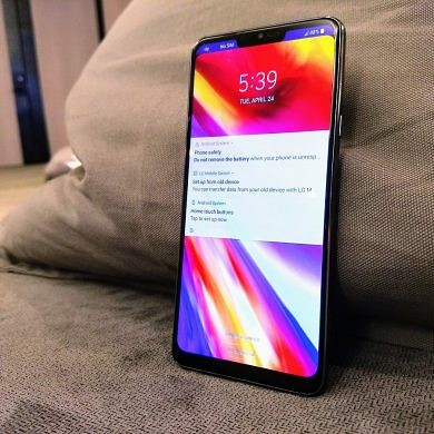 LG G7 ThinQ Hands-on: Improvements where it matters