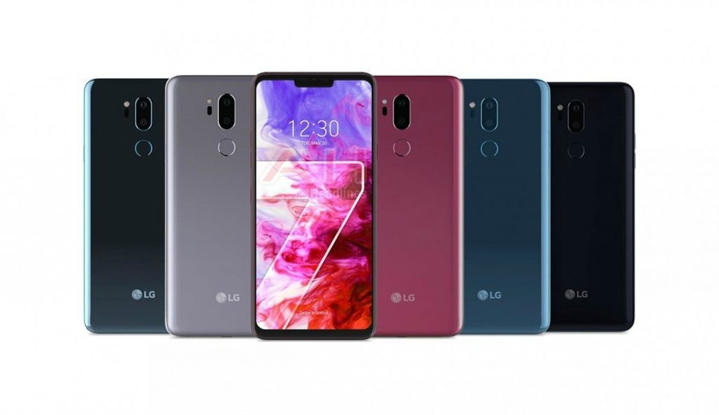 LG G7 ThinQ Official Render