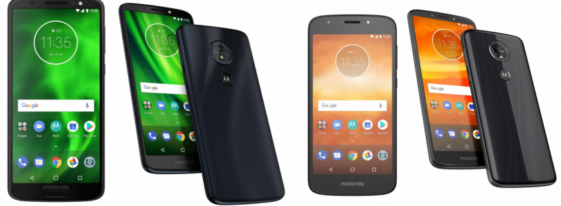 Motorola Moto G6, Moto G6 Play, Moto E5 Plus, and Moto E5 Play announced: Here are the Specifications, Pricing, and Availability