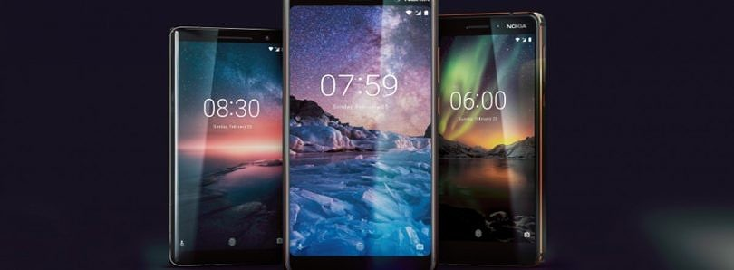 HMD Global launches the Nokia 8 Sirocco, Nokia 7 Plus, and Nokia 6 (2018) in India