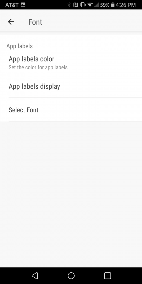 font by download one from the internet go launcher is surprisingly the best choice it will scan your phone for all the font files and allow you to