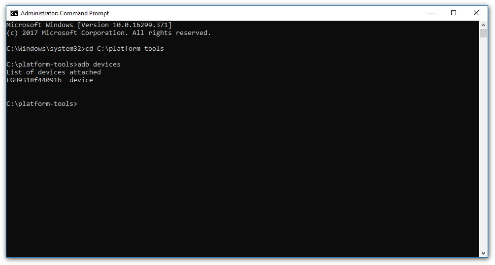 How to quickly install and use ADB