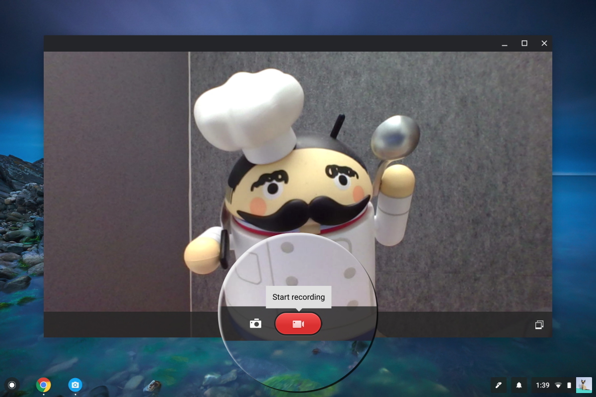 You can now finally record videos on Chrome OS