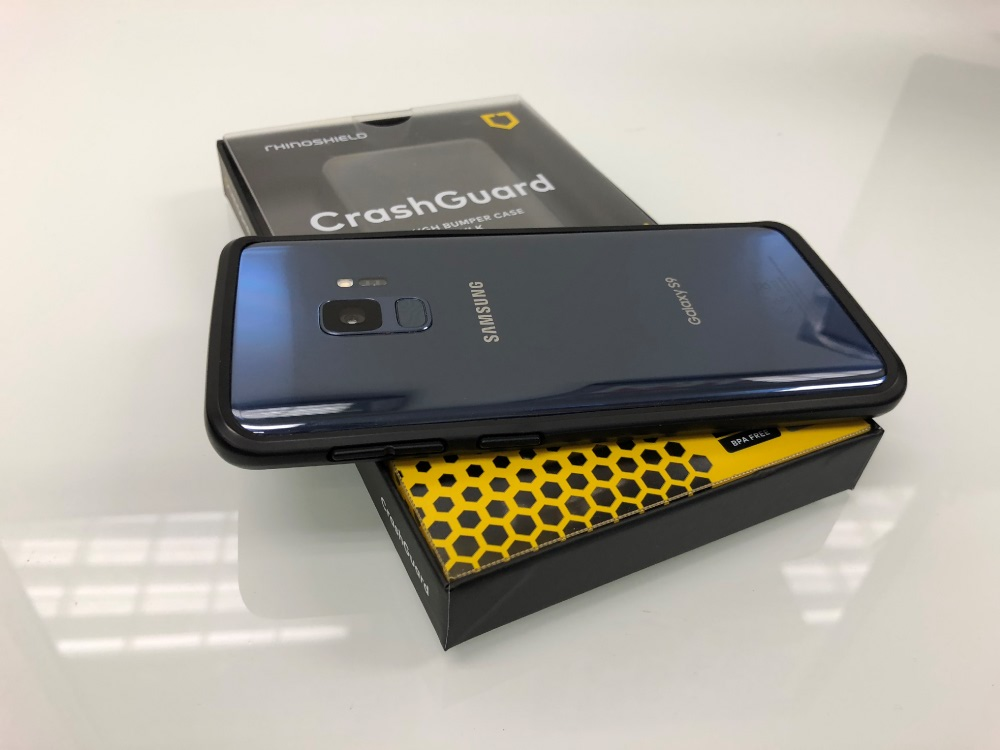 sale retailer 27525 4f1e0 RhinoShield Galaxy S9 Case Review: Testing CrashGuard Bumper and the ...