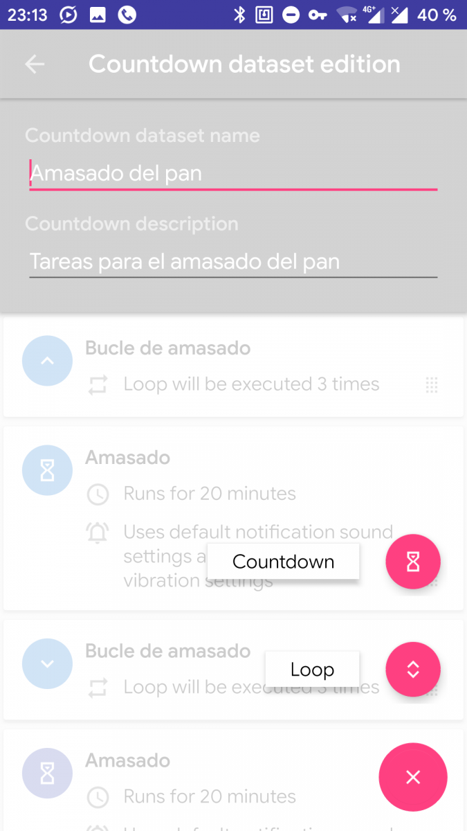 Countdowns+ is a simple app to make timers for your tasks