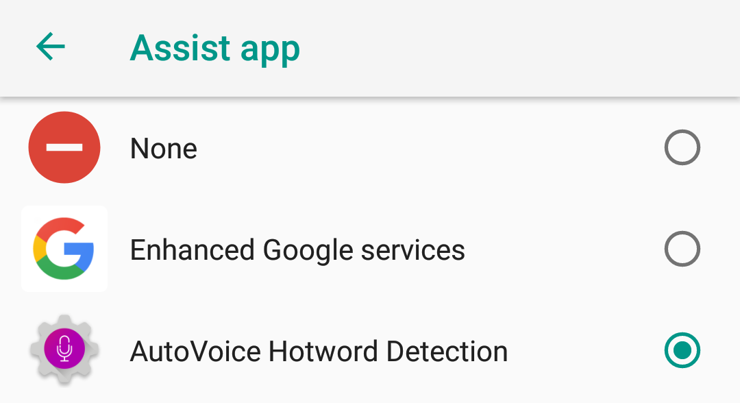 AutoVoice 3 5 lets you create an Assistant to replace Google Assistant