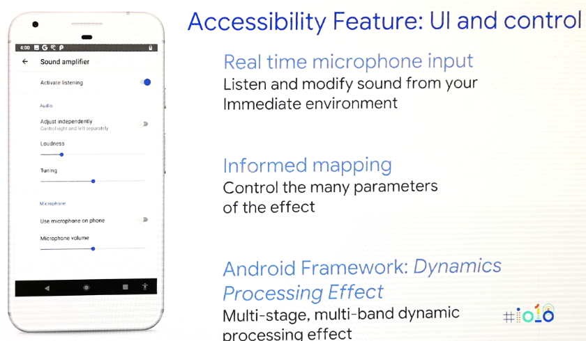 Android P will let developers fine tune audio output from their apps