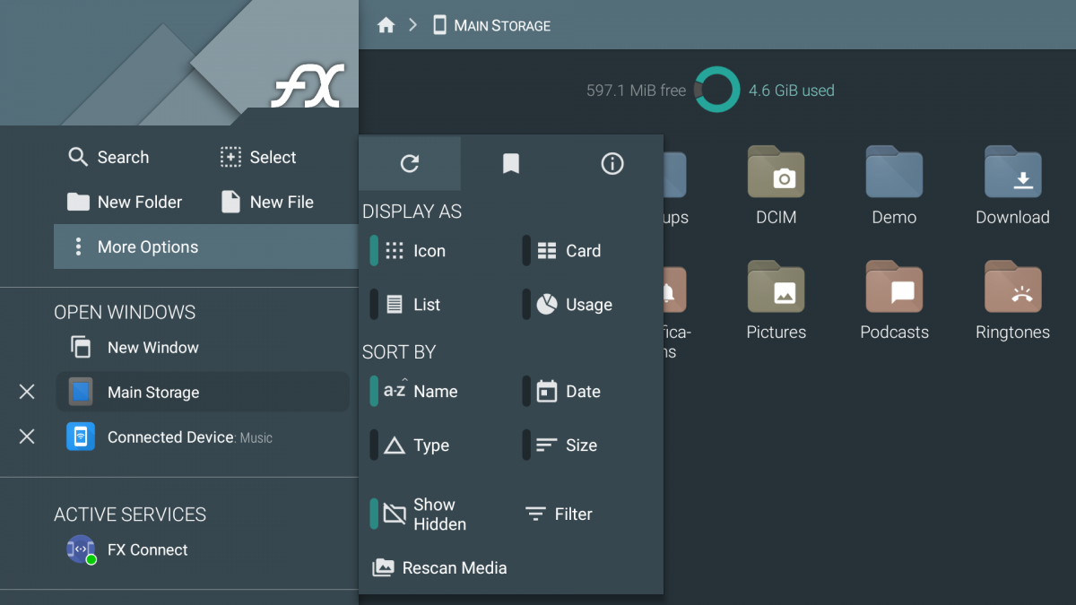 fx file manager