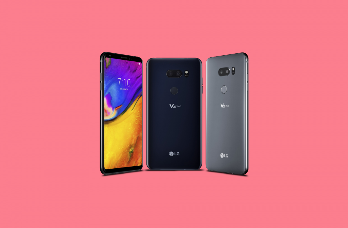 Update: Now on AT&T] The LG V35 ThinQ's Android Pie update rolls out