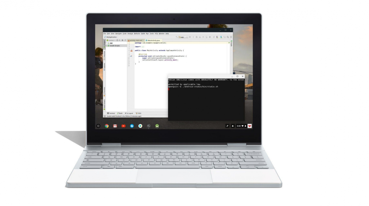 Linux app support is coming to Chrome OS starting with the Pixelbook