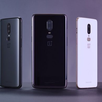 The OnePlus 6 is official with a 6.28″ notched display, Snapdragon 845, and dual rear cameras
