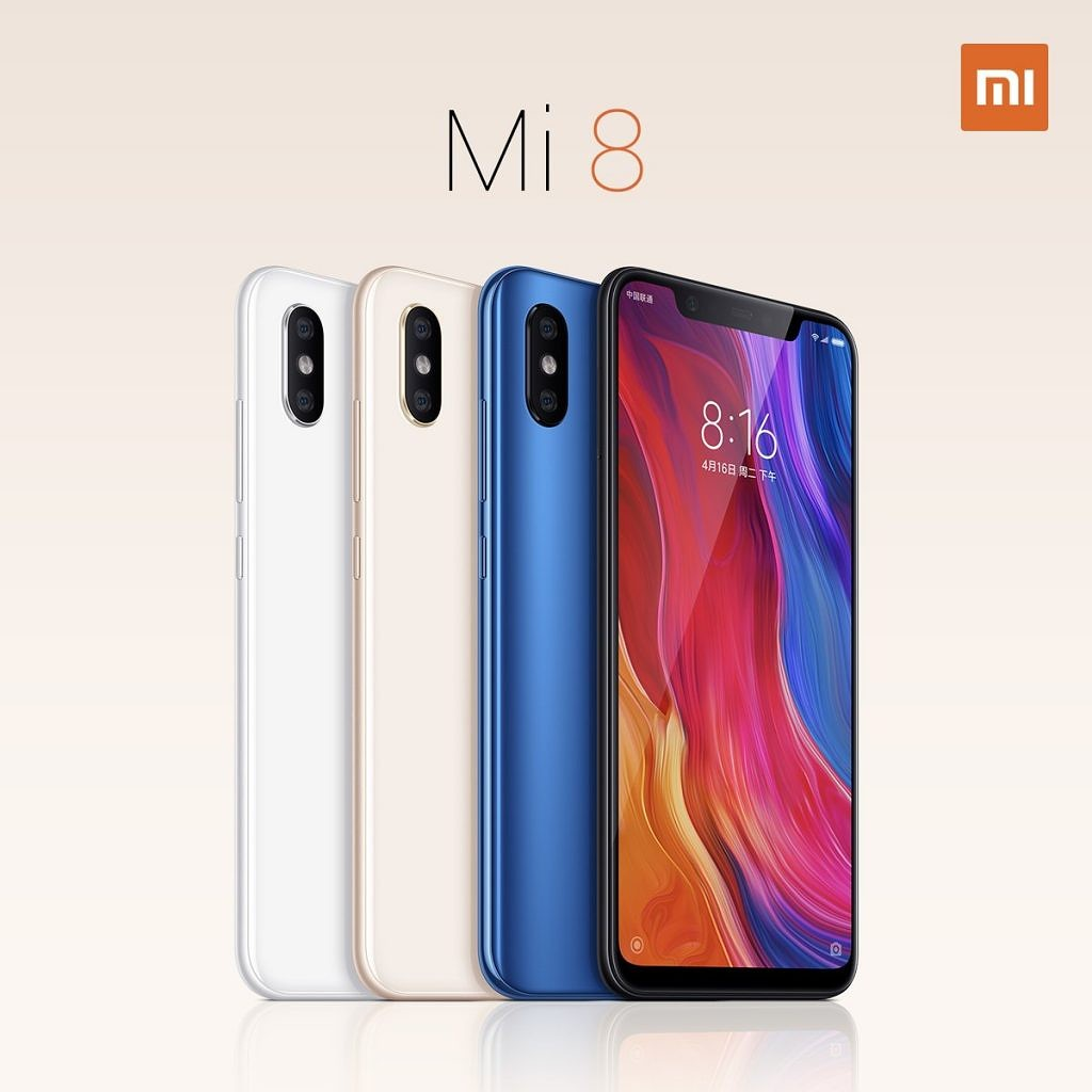 Xiaomi launches the Mi 8, Mi 8 Explorer Edition, and Mi 8 SE