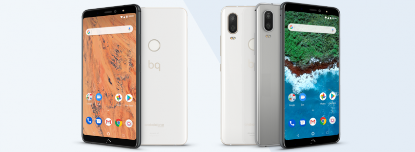BQ Aquaris X2 and X2 Pro are Android One phones with the Snapdragon 636/660