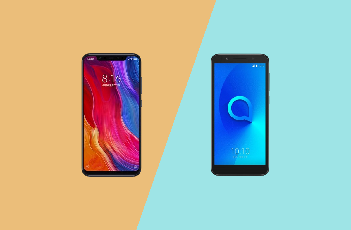 Xiaomi Mi 8 and Alcatel 1X XDA forums are now open