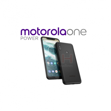 'Motorola One Power' is an Android One device with a display notch