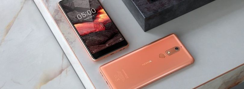 The Nokia 5.1 is now getting the Android Pie update