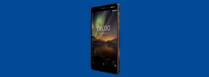 Nokia 6.1 arrives in the U.S. with Android One for $269