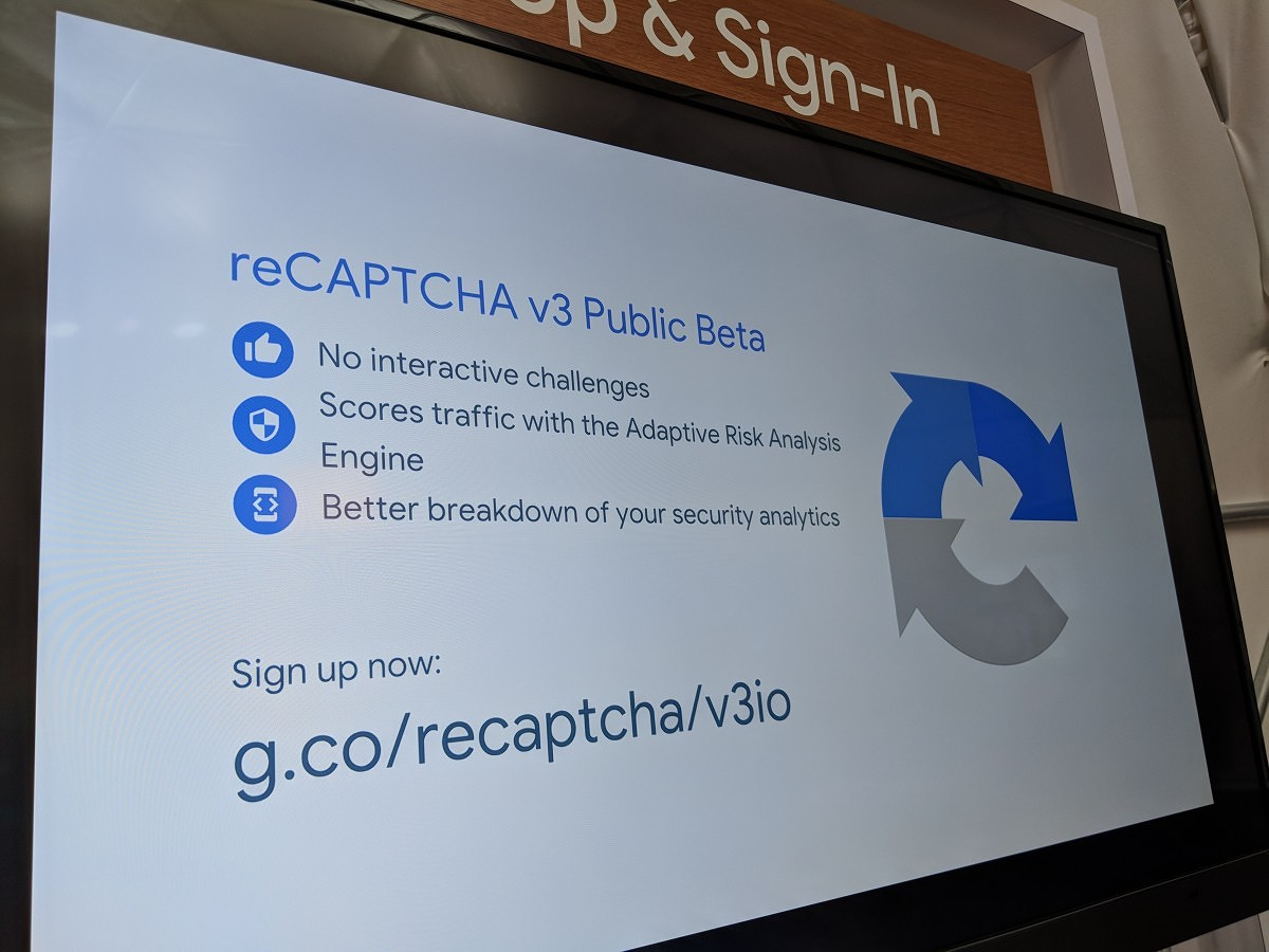 reCAPTCHA v3 beta will get rid of annoying interactive
