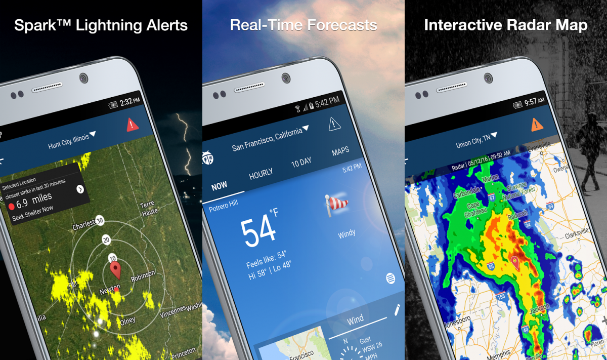 Best Weather Apps and Weather Widgets for Android