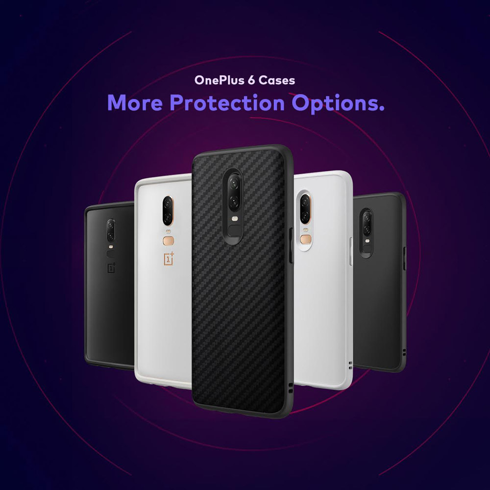 huge discount ca423 ea0bb Discover the RhinoShield Case Options for the OnePlus 6