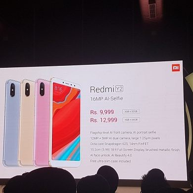 Xiaomi Redmi Y2 With Dual Cameras Launched in India, MIUI 10 Global Rollout Detailed