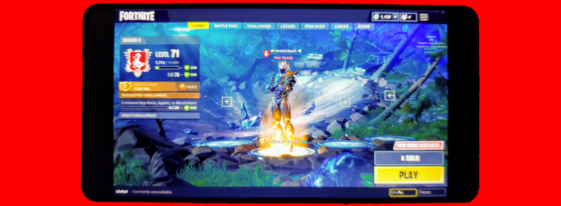 Fortnite Mobile on Android may not be available on the Google Play Store
