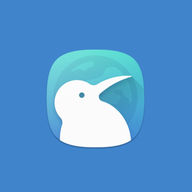 Kiwi is a speedy Chrome-based browser with a dark theme & built-in ad blocker