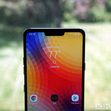 Verizon LG G7 gets AR Stickers and manual AI CAM filters