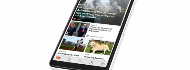 Microsoft News is taking on Google News with new design and AI suggestions