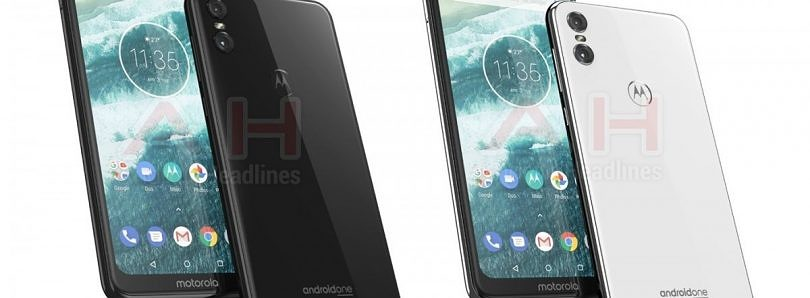 Renders of the Motorola One, another Moto Android One device, leak online