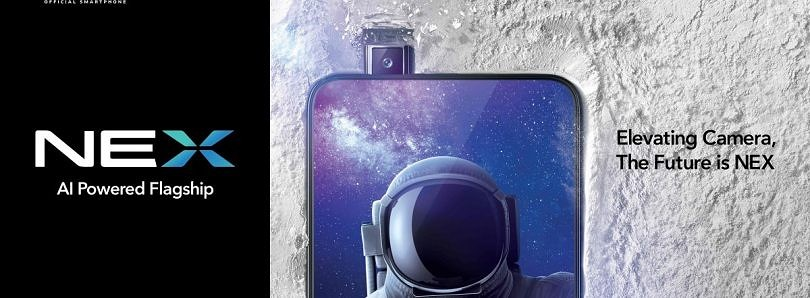 Vivo NEX announced with pop-up camera, in-display fingerprint sensor, and no notch